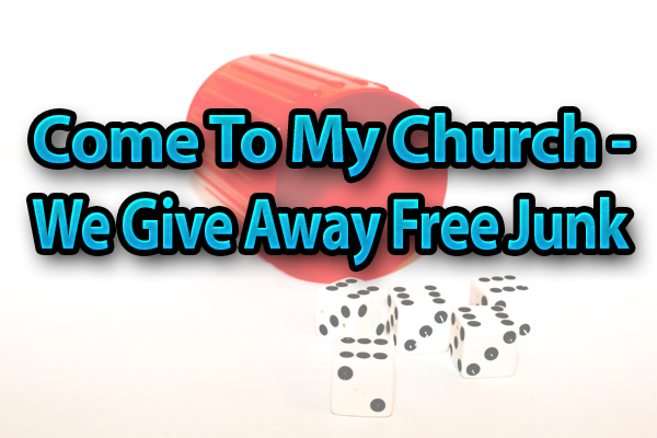My church junk